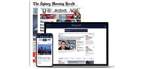 Nine's newspaper, desktop, iPad and iPhone ads